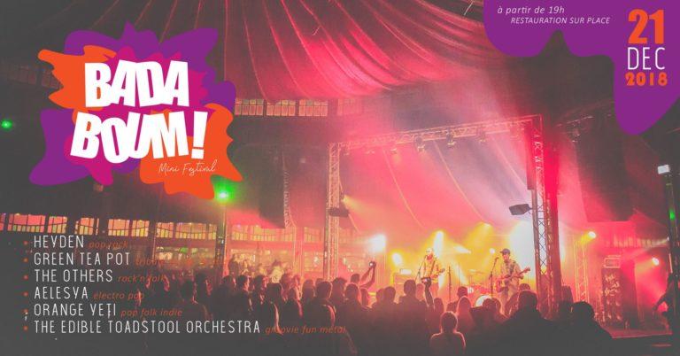 🍄 Concert au Badaboum Festival au Magic Mirrors du Havre !