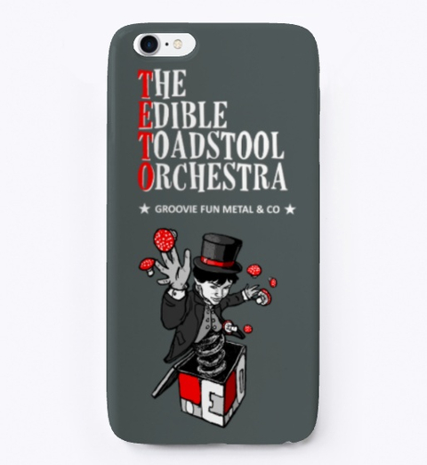 3. The Edible Toadstool Orchestra - IPhone Case - Merch