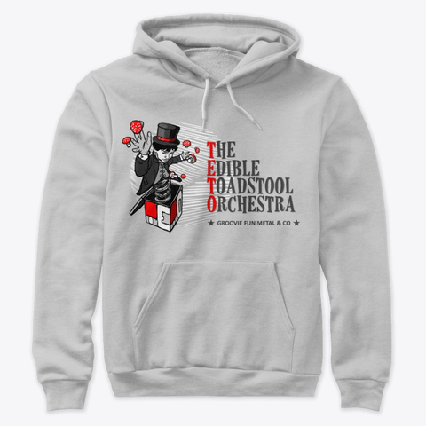 5. The Edible Toadstool Orchestra - Pullover Light Red - Merch