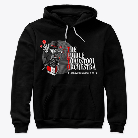 6. The Edible Toadstool Orchestra - Pullover Black - Merch