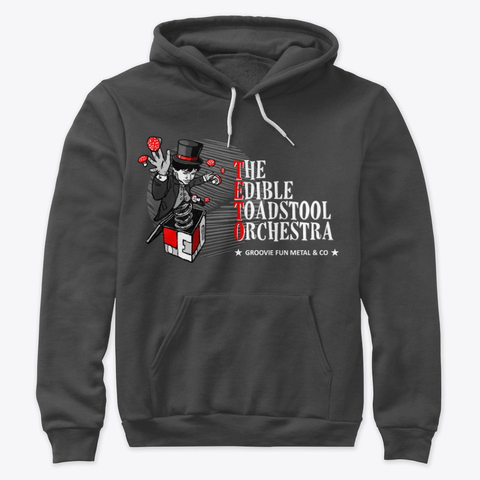 7. The Edible Toadstool Orchestra - Pullover Dark Grey - Merch