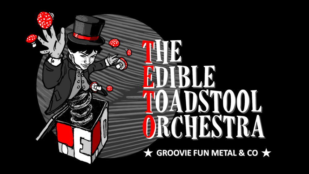 The Edible Toadstool Orchestra black